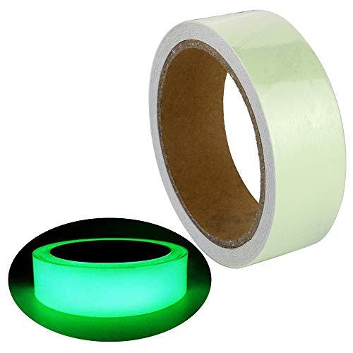 (EEFUN Leuchtendes Band, Selbstklebendem Band, Warnband, Luminous Tape, Glow In The Dark, Wasserdicht, Abnehmbar, Langlebig, Tragbar, Stabil, Sicherheit / 3cm * 5m, 1 Stück)