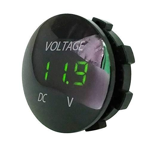 TianranRT DC 12V-24V LED Panel Digital Spannung Volt Meter Display Voltmeter Motorrad Auto