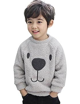 K-youth® Para 12meses a 4 años Ropa bebe Niño Niña Invierno Sudadera para niño Engrosamiento Abrigo