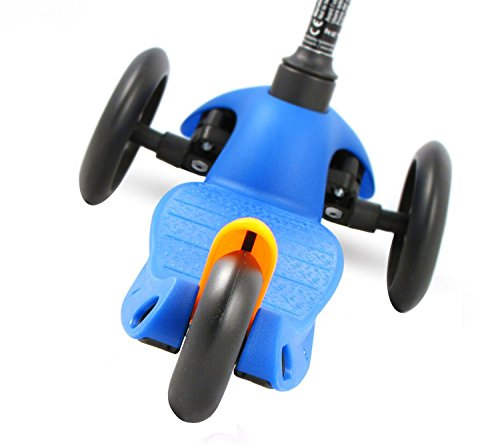 Mini Micro Kinderroller Sporty Kickboard in Blau -
