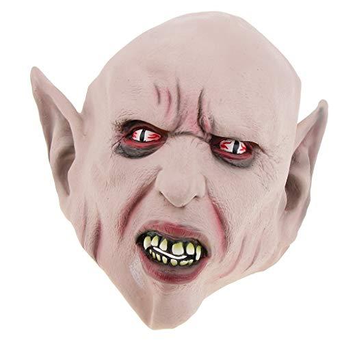 Baoblaze Halloween Teufel / Devil Cosplay Maske Gesichtsmaske, Horror und Gruselig, aus Latex