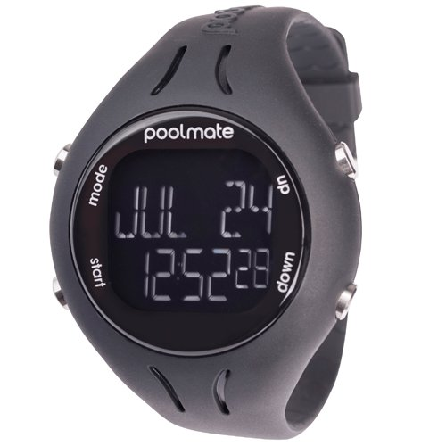 Swimovate Pool Mate 2 Swim Watch - Black