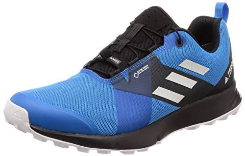 adidas Herren Terrex Two GTX Laufschuhe, Blau (Azubri/Griuno/Negbás 0), 44 2/3 EU