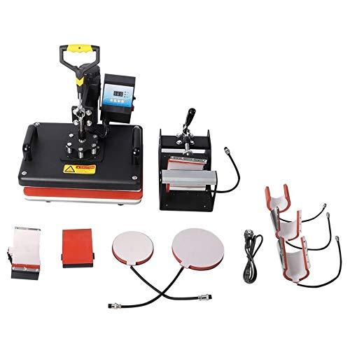 d07f5446db38a fghfhfgjdfj 8 in 1 Combo Digital Heat Press Machine Heat Transfer Machine  Sublimation Printing For T