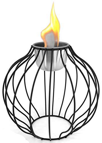 Edelstahl-Öllampen-Kugel Stimmungsvolle Lichtquelle