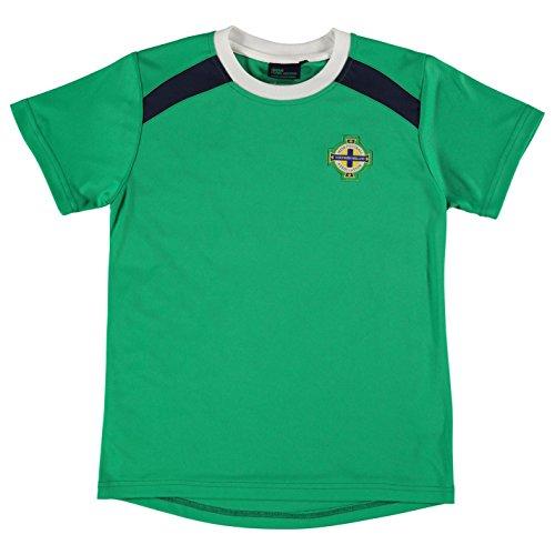 Source Lab Kinder Nordirland Poly T Shirt Kleinkinder Jungen Kurzarm Rundhals Gruen 5-6 Yrs (Militär-kleinkind-t-shirt)