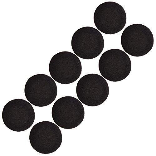 2 Zoll Kopfhörer Ohrkissen Ohrhörer Pad für Sony Sennheiser Philips Kopfhörer, Schwarz, 5 Paar - 2