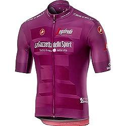 Castelli # Giro102 - Camiseta de Ciclismo para Hombre, Hombre, 9510202, Ciclamino, M