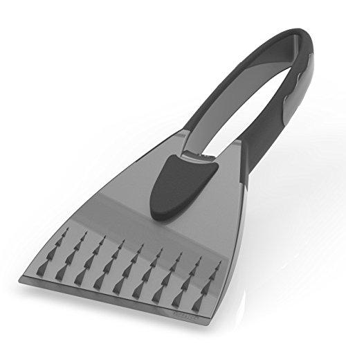Preisvergleich Produktbild AUPROTEC Eiskratzer - 2K Eisschaber mit integriertem rutschfestem Softgriff - grau
