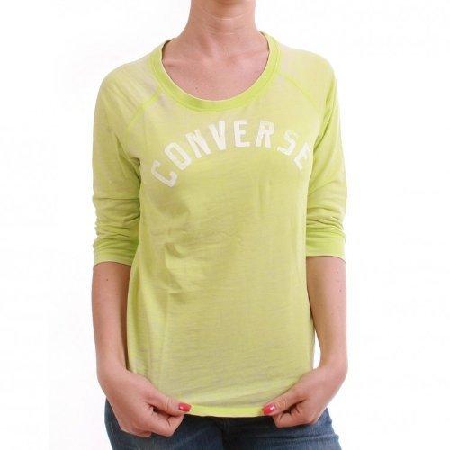 Converse 3/4 Longsleeve Women - WK Boatneck 03144C - Sharp Green, Größe:XS - Ladies Boatneck