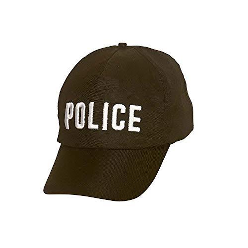 Police Cap for Uniform Fancy Dress Accessory