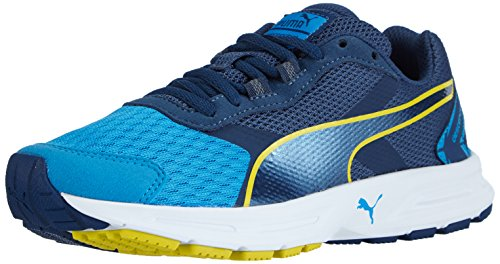 Puma Descendant v3 Unisex-Kinder Sneakers Blau (cloisonné-poseidon-sulphur spring 01)