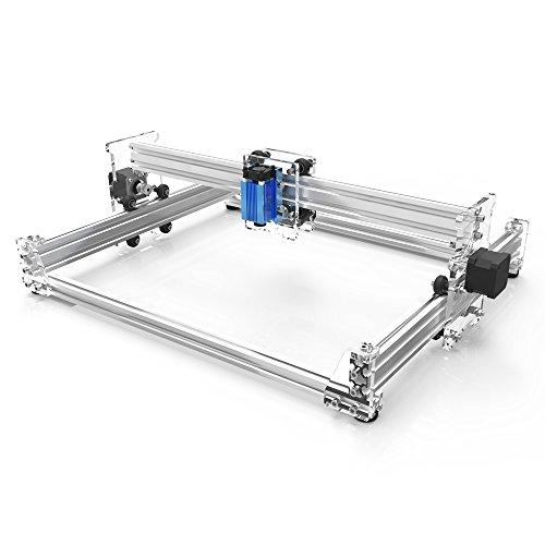 KKmoon A3 Pro 2500mW Desktop Mini USB Laser Graviermaschine Lasergravierer Engraving Carving Maschine Gravur Schnitzmaschine DIY Laserdrucker mit Schutzbrille