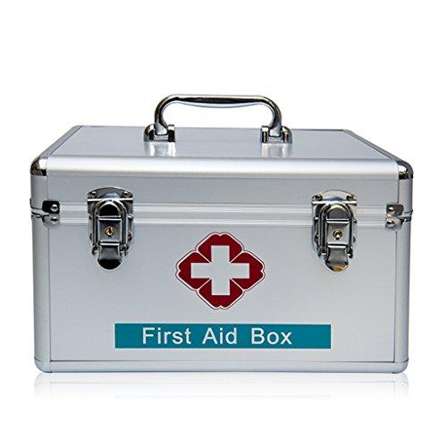 LBYMYB Verschlossene Hausapotheke für Hausapotheken aus der Dose Notfallbox 40x22x23cm Medizinische Box