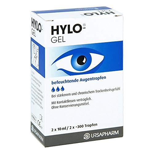 HYLO GEL Augentropfen, 20 ml Gel