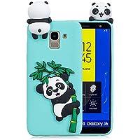 Everainy Samsung Galaxy J6 2018 Silikon Hülle Ultra Slim 3D Panda Muster Ultradünn Hüllen Handyhülle Gummi Case... preisvergleich bei billige-tabletten.eu