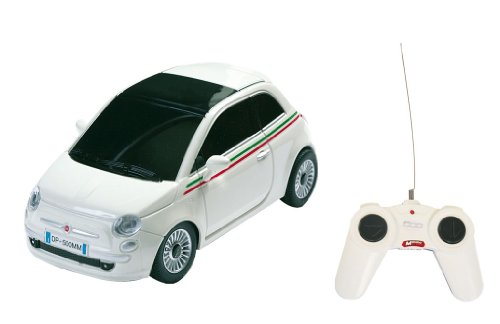 Mondo Motors – 63001 – Voiture Radio Commande – Nuova Fiat 500 – Echelle 1/ 24 – Coloris aléatoire