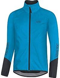 GORE WEAR C5 Chaqueta de ciclismo de hombre GORE-TEX, L, azul/negro