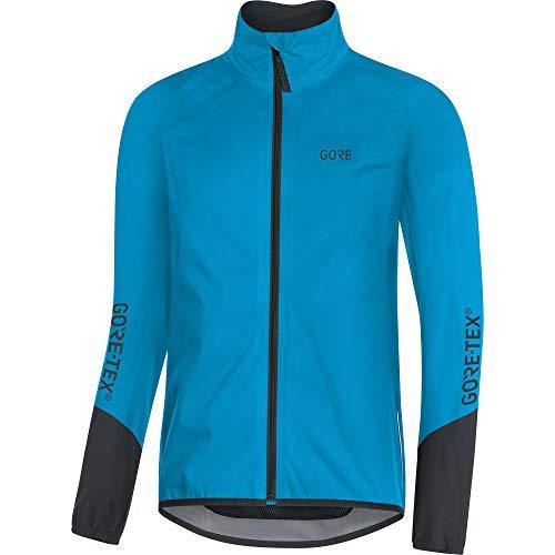 GORE Wear C5 Herren Fahrrad-Jacke GORE-TEX, L, Blau/Schwarz