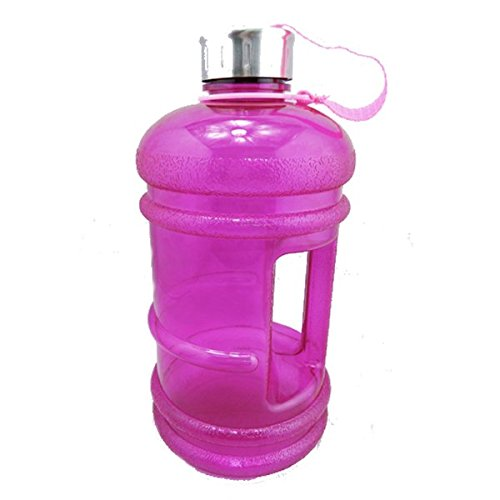 TENGGO 2.2L Safety Environmental Water Bottle Kettle Bpa Free Gym Sport Cup Training-Lila