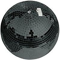 EUROLITE Bola de espejo negra 30cm