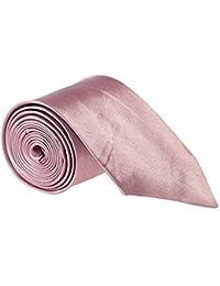 "Mens 2"" Slim Satin Tie Black Blue Pink Grey Silver Gold White Red Brown Purple"