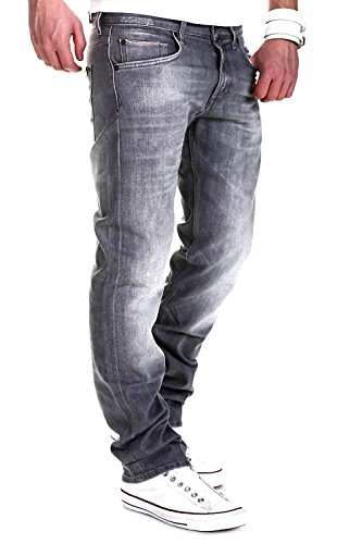 7 for all Mankind Jeans THE STRAIGHT Winter SelvGrey - Hellgrau [W31] -