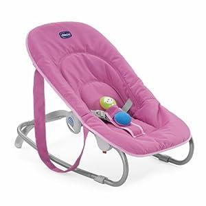 Chicco 05079026170000 Easy Relax - Mecedora para bebé (hasta 9 kg), color rosa de Chicco