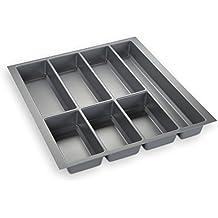 ORGA-BOX® IV UNIVERSAL Cubertero (473,5 x 426 mm) gris