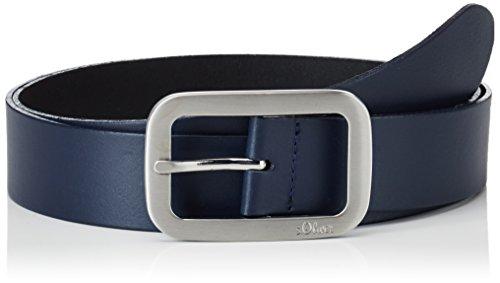 s.Oliver Damen 38899953635 Gürtel, Blau (Blue 5884), Herstellergröße:85