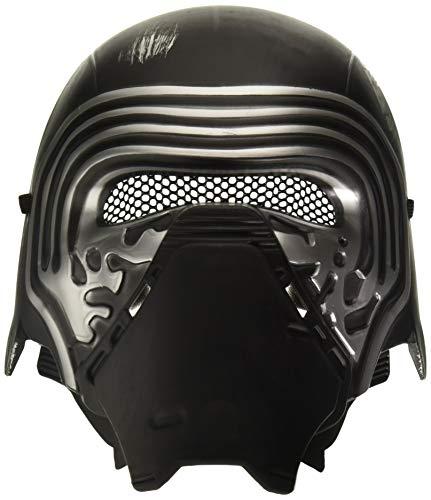tar Wars Kylo Ren-Maske, Verhältnis 1:2, für Erwachsene, Einheitsgröße, Schwarz ()