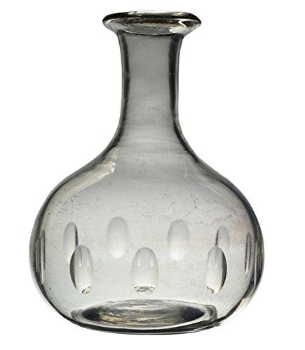 Preisvergleich Produktbild Antike Sherry Klar Rotwein DEKANTER Cut Glas Brandy Victorian Einzigartige CARAFE Englisch Circa 1900 Schiffe LS