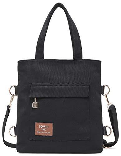 Tote Multifunktions Damen Rucksack Handtasche Schultertasche Vintage Hobo Messenger ()