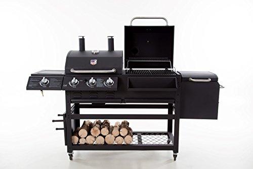 Gas Holzkohlegrill Kombination : Kombination gas und kohle in einem grill grillforum und bbq