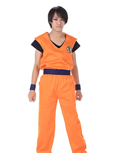 De-Cos DBZ DragonBall Z Kakarot Son Goku Training Uniform Kaio V1 (Kostüme Halloween Dbz)