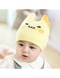 Myzixuan Y bebé Sombrero otoño Invierno niñas Caliente Sombrero de Lana recién  Nacido algodón ... 56245a85574