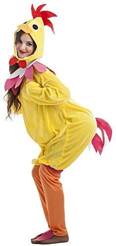 Imagen de disfraz gallina talla m l