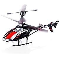 Hélicoptère radiocommandé,Robuste 3.5 canaux infrarouge Équipé d'un gyroscope et de lumière LED, prêt à voler Modèle intérieur et extérieur Cadeau de Noël idéal pour enfants