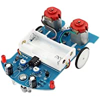 Acutty Intelligent Tracking Smart Car Robot DIY Chassis Starter Kit with DC Motor