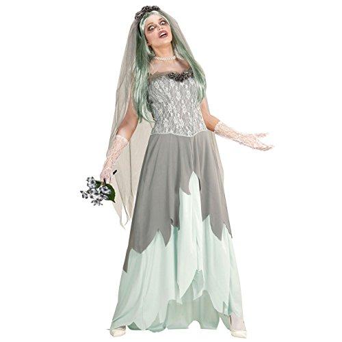 WIDMANN 05964 Erwachsenen Kostüm Zombie Braut, Womens, XL