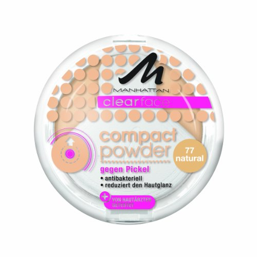 Manhattan CF Compact Powder 77 1er Pack (1 x 9 g)