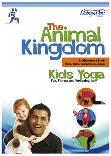 The Animal Kingdom Kids Yoga Book: Living OM (English ...