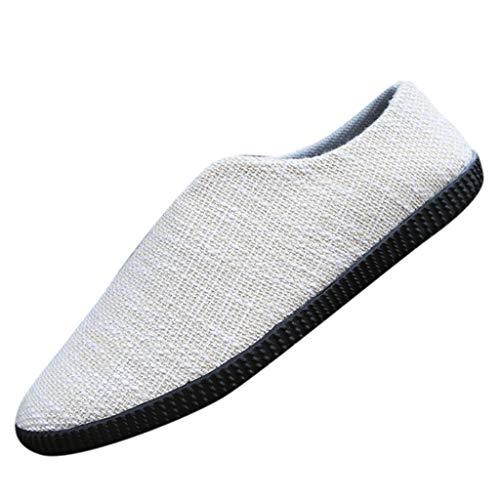 Vovotrade Footwear Espadrillas Basse per Uomo in Canvas Scarpa