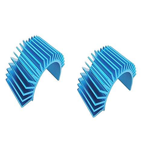 Yiqigou-T Lila/blau Aluminium-Elektromotor-Kühlkörper zum Kühlen von 540/550-Motoren (blau) -