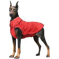 Wooce Chaqueta Impermeable para Mascotas Perros Abrigos de Invierno cálido