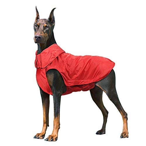 Wooce Chaqueta Impermeable Mascotas Perros Abrigos