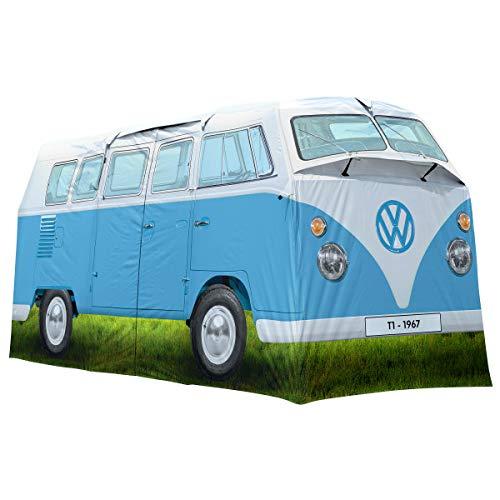 AE-VW Bulli Bus-Azul-Tienda acampada Juego
