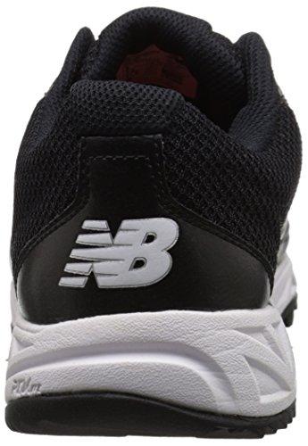 New Balance Mens MU950V2 Umpire Low Shoe, Black, 10 D US Black/White