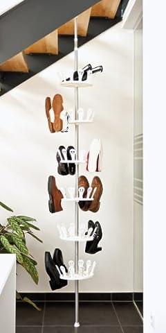 bremermann® étagère à chaussures télescopique, plateau pour 36 paires de chaussures