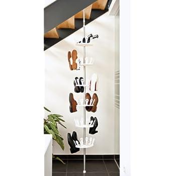 kronenburg schuhkarussell schuhregal f r 96 schuhe k che haushalt. Black Bedroom Furniture Sets. Home Design Ideas